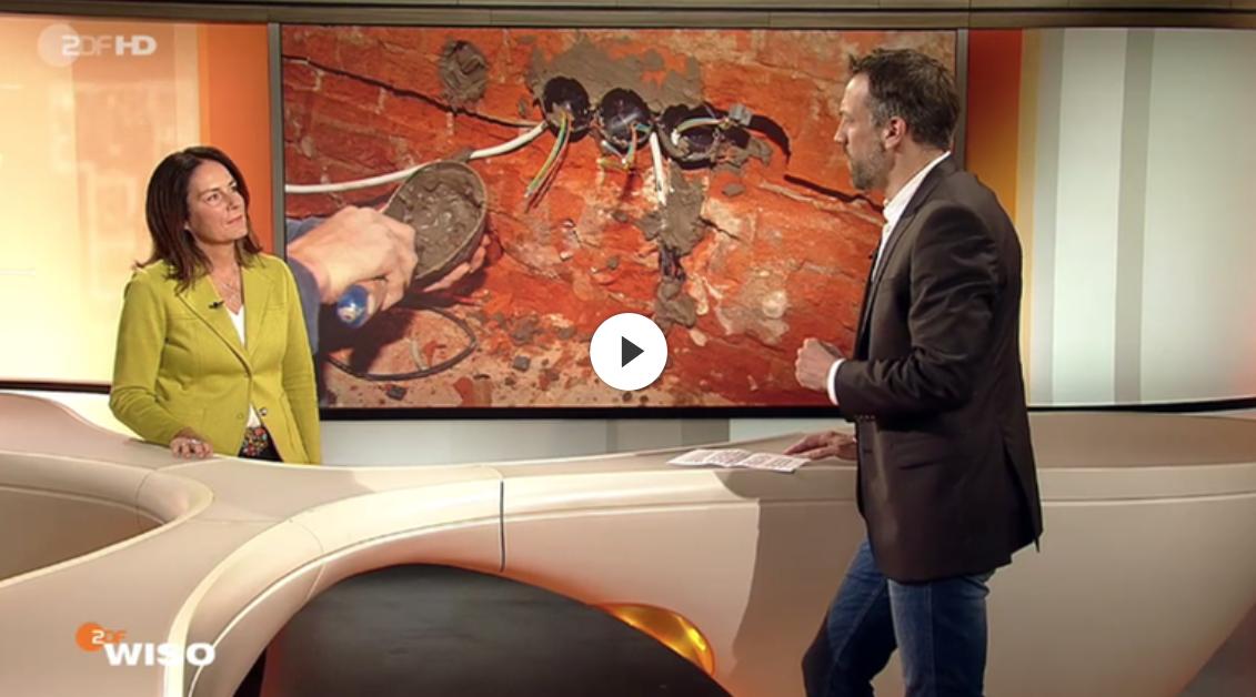 Interview mit ZDF Wiso